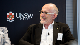 Shane Simpson at a UNSW event