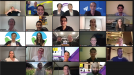 UNSW entrepreneurs participating in this year's virtual rendition of the Peter Farrell Cup
